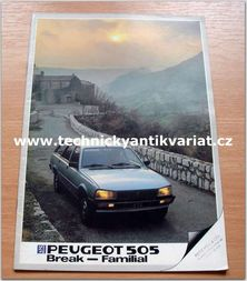 Peugeot 505 Break, Familia