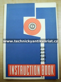Zetor 2511 3511 4511 3545 3513 - Instruction book (1970)