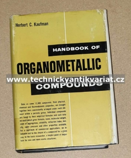 Handbook of organometallic compounds - Herbert. C. Kaufman (1961)